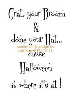 halloween birthday verses