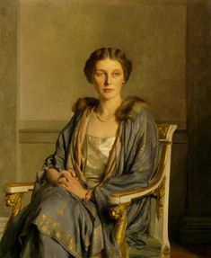 Edith Teresa Hulton , Lady Berwick (1923). Sir Gerald Festus Kelly (English, 1879-1972).