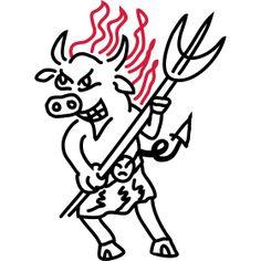 Kuh Teufel cow devil