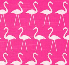 SALE  Premier Prints Flamingo Candy Pink  Bird printed by FabricHQ, $5.00