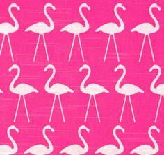 SALE  Premier Prints Flamingo Candy Pink  Bird printed by FabricHQ, $5.00