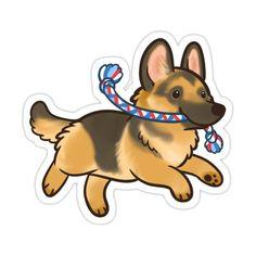 Preppy Stickers, Kawaii Stickers, Cute Stickers, Cute Dog Drawing, Cute Drawings, Cute Kawaii Animals, Chibi, Kawaii Doodles, Dog Illustration