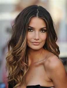 dark brown ombre hair color - Bing Images -brunette- kumral -sarı baltajlar gölge ısıltı