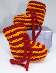 Harry Potter baby booties Baby shoes newborn booties quirky baby booties Gryffindor colours Motherwell FC fan booties by sweetygreetings on Etsy https://www.etsy.com/listing/163554074/harry-potter-baby-booties-baby-shoes