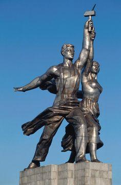Рабочий и Колхозница (Worker and Kolkhoz Woman)