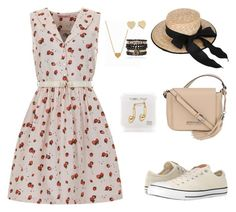 """""""Summer Joy"""" by selmagorath ❤ liked on Polyvore featuring moda, Trollied Dolly, Converse, Kenneth Cole, Happy Plugs, Minnie Grace, Samantha Wills e Kate Spade"""