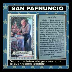 Por si se pierde algo.... San Pafnuncio. Lilac Wedding, God Prayer, Feng Shui, Prayers, Faith, Crochet, Quotes, Cards, Movies