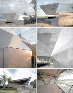 Paper Tea House Concrete Bunker