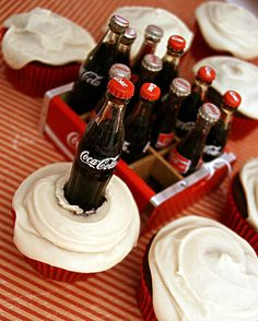 Things go better with Coca-Cola Cupcakes! by cupcakequeen, via Flickr