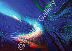 ΚΑΛΛΙΤΕΧΝΗΣ:ΠΑΠΑΔΗΜΗΤΡΟΠΟΥΛΟΣ ΚΩΝΣΤΑΝΤΙΝΟΣ ΔΙΑΣΤΑΣΕΙΣ:50X70CM DIGITAL ART ΣΕ ΚΑΜΒΑ TIMH:500,00 € Blue Artwork, Shades Of Blue, Waves, Neon Signs, Outdoor, Outdoors, Ocean Waves, Outdoor Games, The Great Outdoors