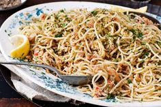 Sweet crab meat is wonderfully paired with chilli and makes this spaghetti dish truly luxurious.