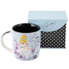 Cinderela - Caneca Disney - Azzurium Decorações e Presentes Criativos