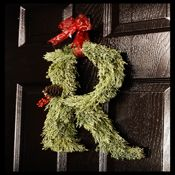 Letter Christmas Wreaths