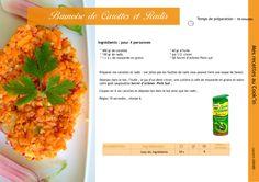 Recette Cook'in : Brunoise de carottes et Radis - Flexicook