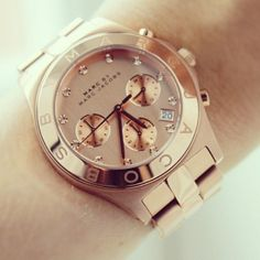 Marc by Marc Jacobs Watch Rosé gold