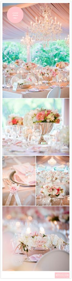 Pink luxury decor