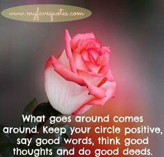 Positivity quote via www.MyFaveQuotes.com