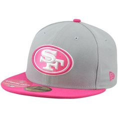 New Era San Francisco 49ers Breast Cancer Awareness Hat Forty Niners 92c718b4c