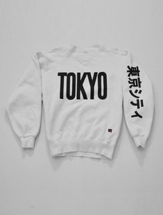 sweater japanese shirts japan japanese fashion japanese writing