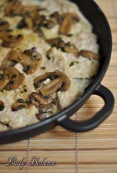 Italian Food - Scaloppine di vitello ai funghi