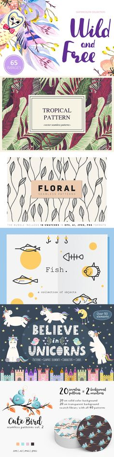 Handpicked illustrations on Creative Market