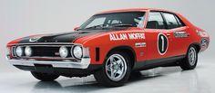 XA GT Ford Falcon Allan Moffat - My list of the best classic cars Porsche, Audi, Bmw, Australian Muscle Cars, Aussie Muscle Cars, Ford Falcon, Bugatti, Jaguar, Phase Iv