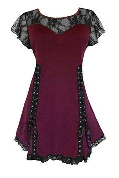 Fashion Bug #Victorian Gothic Women's Plus Size Roxanne Corset Top www.fashionbug.us #plussize #fashionbug #vintage #gothic