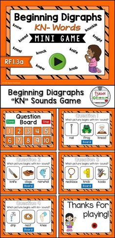 Practice spelling ch digraphs words with this smartboard game. 10 questions makes it great practice for small groups, ELA, or word work centers. CCSS aligned!
