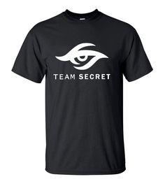 >> Click to Buy << 2016 Summer Style DOTA 2 Team Secret logo Printed T-Shirt Hipster Men's Short Sleeve O-Neck Tee Shirt Fashion Streetwear Tops #Affiliate
