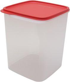 (23% off)  Tupperware Square Smart Saver Plastic Container, 3.9 Litres, Multicolour