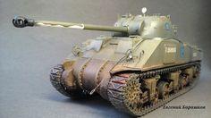 Sherman VC Firefly — Каропка.ру — стендовые модели, военная миниатюра