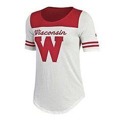 Under Armour® NCAA® Wisconsin Badgers Women's Iconic Jersey Tee