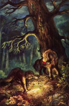 jan marcin szancer Dream Fantasy, Fantasy World, Bull Horns, Illustration Art, Book Illustrations, Folklore, Constellations, Illustrators, Supernatural