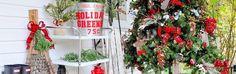 Rustic Farmhouse   Cabin Christmas Tree- Michaels Dream Tree Challenge 2015