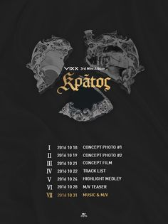 "Update: VIXX Releases Comeback Schedule For ""Kratos"" 