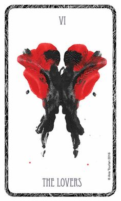 The Hidden Waters Tarot delves into the subconscious with 78 cards based upon the Rorschach inkblot test. Each card has a vibrant, abstract image allowing for individual interpretation, with no right or wrong answer. Currently unpublished but soon to be a Cards Diy, The Lovers Tarot Card, Rorschach Inkblot, Tarot Major Arcana, Tarot Readers, Abstract Images, Oracle Cards, Tarot Decks, Tarot Cards