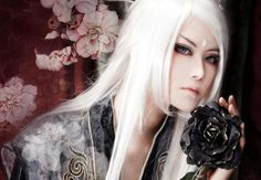 cosplay hair, hair,white hair,white wig.cosplay