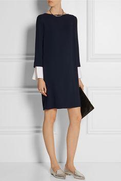 The Row | Audette stretch-cady dress | NET-A-PORTER.COM