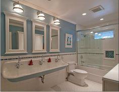 Kids bathroom.