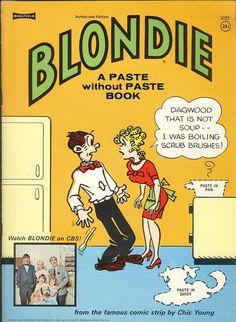 Comic book sex blonde dagwood