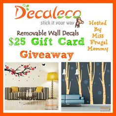 One winner will receive a $25 credit to the Decaleco website!