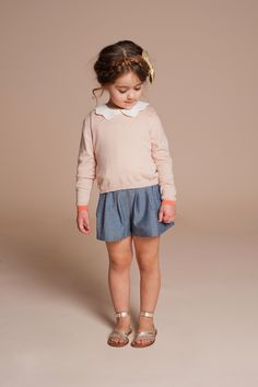 The Parker Project: Stylish Clothes for Chic Little Girls Featuring Hucklebones Fashion Kids, Little Girl Fashion, My Little Girl, My Baby Girl, Look Fashion, Dolly Fashion, Baby Outfits, Cute Outfits For Kids, Cute Kids