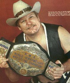 The AWA International TV Title. Courtesy of Reggie Parks' Championship Belts