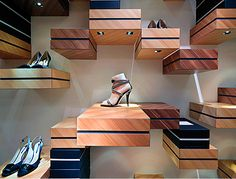 Interior Design for a Shoe Store