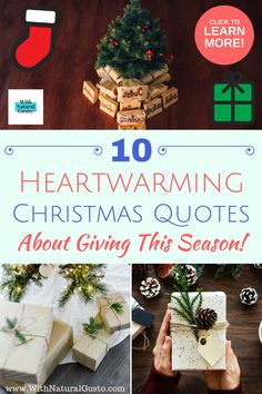 Shake off the bah-humbugs and get into the holiday spirit with these 10 Christmas quotes on giving. Happy Life Quotes, Smile Quotes, New Quotes, Inspirational Quotes, Tattoo Quotes About Life, Inspiring Quotes About Life, Girlfriend Birthday, Best Friend Birthday, Giving Quotes
