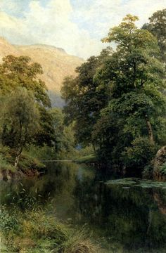 Still Waters  Palmer, Harry Sutton  Painting Reproductions
