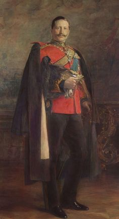 Portrait of German Emperor Wilhelm II - oil on canvas - 1895 - The Royal Collection