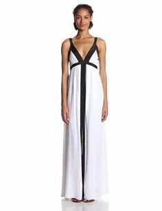 Ella Moss Women's Stella Jersey Colorblock Maxi Dress Affiliate