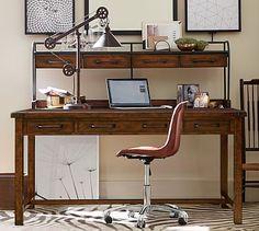 Benchwright Desk #potterybarn