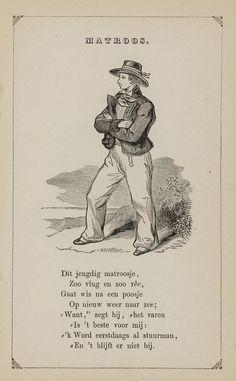 Matroos. Uit: Prentenboek: een ijverige hand vindt werk, 1850. Sign.: 851998240